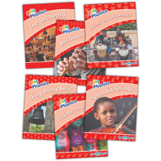 Jolly Readers Our World Nonfiction readers Level 1 (Red)