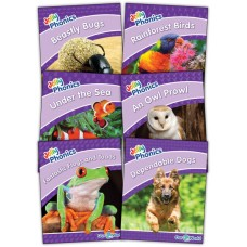 Jolly Readers Our World Nonfiction readers Level 5 (Purple)