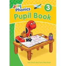 Jolly Phonics Colour Pupil Book 3 2020 Edition