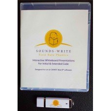 Sounds~Write Interactive Whiteboard Presentations USB - Initial and Extended Code