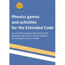 Sounds~Write Phonics Games and Activities for Extended Code