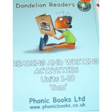Dandelion Reading and Writing Activities units 1-10 Sam