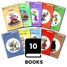 Dandelion Readers 1-10 Pack 2- A mat - SET 2