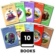 Dandelion Readers 1-10 Pack 3- Sit Sam - SET 3