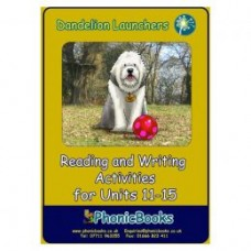 Dandelion Launchers Reading and Writing Activities units 11 - 15