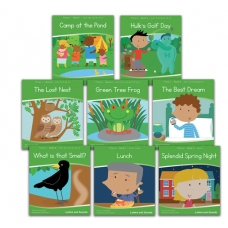 Letters and Sounds Phase 4 Decodable Readers