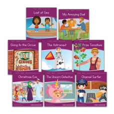 Letters and Sounds Phase 5 Decodable Readers