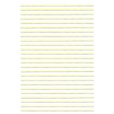 Highlighted Writing Book (A4, 11mm, 48 pages)