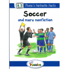 Jolly Phonics Paperback Readers Level 4, Soccer and more nonfiction