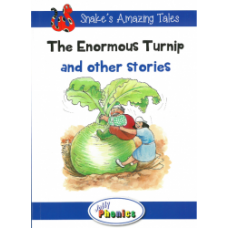 Jolly Phonics Paperback Readers Level 4, The Enormous Turnip and other stories