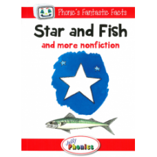 Jolly Phonics Paperback Readers Level 1, Star and Fish and more nonfiction