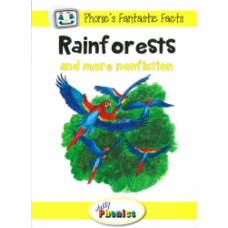 Jolly Phonics Paperback Readers Level 2, Rainforests and more nonfiction