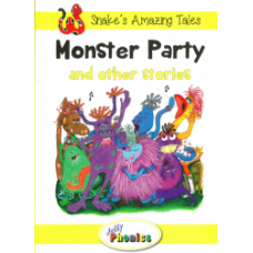 Jolly Phonics Paperback Readers Level 2, Monster Party and other stories