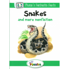 Jolly Phonics Paperback Readers Level 3, Snakes and more nonfiction