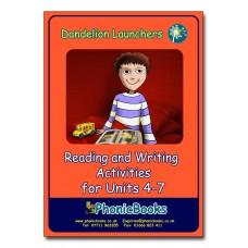 Dandelion Launchers Reading and Writing Activities units 4 - 7
