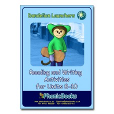 Dandelion Launchers Reading and Writing Activities units 8 - 10