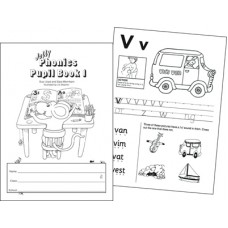 Jolly Phonics Pupil Book 1 Black and White