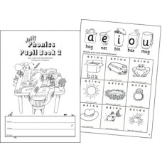 Jolly Phonics Pupil Book 2 Black and White
