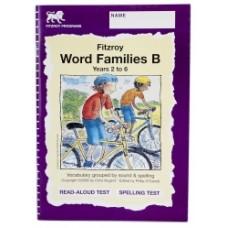 Fitzroy Word Families B